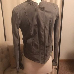 Free People size 6 leather like jacket